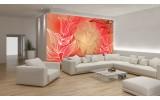 Fotobehang Bloemen | Rood | 104x70,5cm