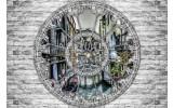 Fotobehang Muur, Venetië | Grijs | 152,5x104cm