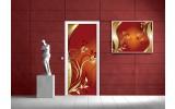 Fotobehang Abstract | Bruin | 91x211cm