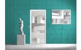 Fotobehang 3D | Wit | 91x211cm