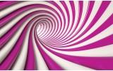 Fotobehang Vlies   Design   Roze, Paars   368x254cm (bxh)