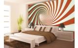 Fotobehang Design, Slaapkamer | Oranje | 416x254