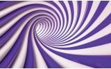 Fotobehang Vlies | Design | Paars, Wit | 368x254cm (bxh)