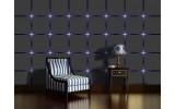 Fotobehang Design | Grijs, Blauw | 312x219cm
