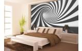 Fotobehang Papier Design, Diepte | Zwart | 368x254cm