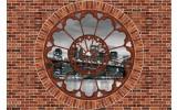 Fotobehang Muur, New York | Bruin | 104x70,5cm