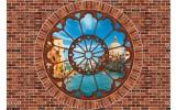 Fotobehang Vlies | Muur, Venetië | Bruin | 368x254cm (bxh)