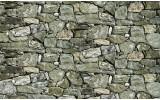 Fotobehang Vlies | Stenen, Muur | Groen | 368x254cm (bxh)