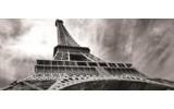 Fotobehang Eiffeltoren, Parijs   Grijs   250x104cm