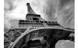 Fotobehang Vlies | Eiffeltoren, Parijs | Grijs | 368x254cm (bxh)