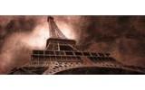 Fotobehang Eiffeltoren, Parijs | Bruin | 250x104cm