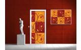 Fotobehang Klassiek | Oranje | 91x211cm