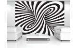Fotobehang 3D, Design | Zwart | 416x254