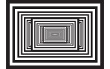 Fotobehang Vlies | 3D, Design | Zwart | 368x254cm (bxh)