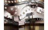 Fotobehang Modern, Design | Zilver | 208x146cm