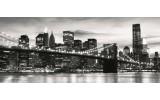 Fotobehang New York | Grijs | 250x104cm