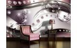 Fotobehang Modern, Design | Zilver | 152,5x104cm