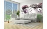 Fotobehang Modern, Design | Zilver | 250x104cm