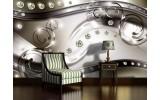 Fotobehang Modern, Design | Zilver | 416x254