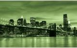 Fotobehang New York | Groen | 312x219cm