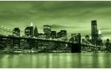 Fotobehang Vlies | New York | Groen | 368x254cm (bxh)