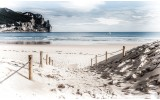 Fotobehang Strand, Zee | Blauw | 104x70,5cm