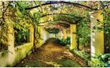 Fotobehang Natuur | Groen, Geel | 312x219cm