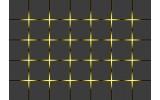 Fotobehang Design | Grijs, Geel | 416x254