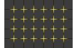 Fotobehang Vlies | Design | Grijs, Geel | 368x254cm (bxh)
