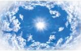 Fotobehang Lucht, Wolken | Blauw |