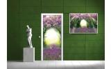 Fotobehang Natuur | Paars, Groen | 91x211cm