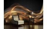 Fotobehang Design | Goud, Zwart | 416x254