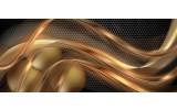 Fotobehang Design | Goud, Zwart | 250x104cm