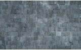 Fotobehang Papier Muur, Stenen | Grijs | 254x184cm