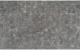 Fotobehang Stenen, Muur | Grijs | 208x146cm