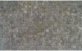 Fotobehang Vlies | Stenen, Muur | Grijs | 368x254cm (bxh)