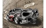 Fotobehang Papier Alchemy Gothic, Auto | Grijs | 368x254cm