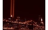 Fotobehang New York | Bruin | 104x70,5cm