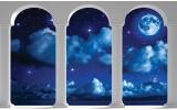 Fotobehang Nacht, Modern | Blauw | 152,5x104cm