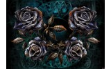 Fotobehang Vlies   Alchemy Gothic   Zwart   368x254cm (bxh)