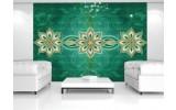 Fotobehang Modern | Groen | 208x146cm