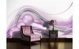 Fotobehang Papier Design | Paars, Zilver | 254x184cm