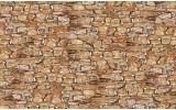 Fotobehang Vlies | Muur, Stenen | Bruin | 368x254cm (bxh)