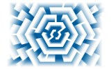 Fotobehang Design | Blauw | 416x254