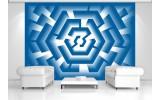 Fotobehang Design | Blauw | 152,5x104cm