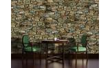 Fotobehang Stenen, Muur | Groen | 104x70,5cm