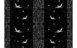 Fotobehang Vlies | Vogels | Zwart | 368x254cm (bxh)