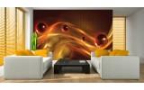 Fotobehang Design | Bruin, Oranje | 416x254