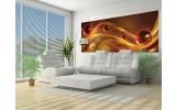 Fotobehang Design   Bruin, Oranje   250x104cm