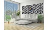 Fotobehang Design | Grijs | 250x104cm